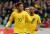 Soccer Football - International Friendly - Brazil vs Japan - Stade Pierre-Mauroy, Lille, France - November 10, 2017  Brazil?s Neymar celebrates scoring their first goal  REUTERS/Yves Herman/2017-11-10 21:25:38/ <저작권자 ⓒ 1980-2017 ㈜연합뉴스. 무단 전재 재배포 금지.>