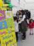 과학 프로그램을 듣기 위해 줄을 서 있는 관람객들.황선윤 기자