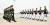 28일 인천 국제공항에서 열린 제5차 중국군 유해 인도식에서 한국군 의장대가 중국군 의장대에게 유해 봉안함을 전달하고 있다. 사진공동취재단