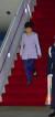 박근혜 대통령이 지난 2015년 4월 27일 오전 중남미 4개국 순방을 마치고 서울공항으로 귀국했다. [중앙포토]