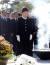 박근혜 전 대통령이 2012년 대선을 앞둔 8월 21일 새누리당 대선 후보 자격으로 노무현 전 대통령 묘역을 참배하던 모습. [중앙포토]