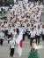 지난 2014년 인천 아시안게임 개회식 당시 일본 선수단. [사진공동취재단]