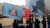 박근혜 대통령 탄핵에 반대하는 태극기집회 측이 3·1절에 들고나온 다양한 깃발과 소품들