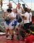 2018 자카르타-팔렘방 아시안게임 사이클 트랙 여자 팀추월이 28일 자카르타 국제 벨로드롬에서 열렸다. 경기를 마친 선수들이 기뻐하고 있다. 자카르타=김성룡 기자