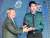 경찰야구단 이대은(오른쪽)이 지난해 시상식에서 퓨처스리그 평균자책점상을 받는 모습. [중앙포토]