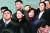 북한 고위급 대표단의 일원으로 방남한 김여정 노동당 중앙위원회 제1부부장을 밀착수행하는 김성혜 조국평화통일위원회 서기국 부장(붉은원)이 지난 2월 9일 오후 인천국제공항에서 이동 중 수행하는 모습. 김 서기국 부장은 북한에서는 보기 드문 여성 '대남통'이다. [연합뉴스]