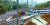 10일 첫차부터 정상운행에 들어간 강릉선 KTX 열차가 강릉시 운산동 사고 현장 부근을 지나고 있다. 왼쪽으로 탈선 열차의 기관차가 보인다. [연합뉴스]