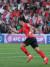 대한민국 축구대표팀 황희찬이 22일 오후(현지시간) 아랍에미리트연합(UAE) 두바이 막툼 빈 라시드 경기장에서 열린 2019 아시아축구연맹(AFC) 아시안컵 16강 대한민국과 바레인과의 경기에서 선제골을 넣은 후 세리머니를 하고 있다. [뉴스1]