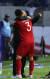 박항서 베트남 축구대표팀 감독이 20일 오후(현지시간) 아랍에미리트연합(UAE) 두바이 알 막툼 스타디움에서 열린 2019 아시아축구연맹(AFC) 아시안컵 16강 베트남과 요르단의 경기 승부차기에서 승리한 후 선수들과 포옹하고 있다. [뉴스1]