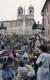 앤공주로 출연한 오드리 헵번이 아이스크림을 먹으며 서있던 스페인 광장의 계단. 많은 관광객들이 '로마의 휴일'의 영상을 떠올리며 이곳을 찾는다. [중앙포토]