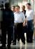 김철규 북한 호위사령부 부사령관이 18일 숙소인 베트남 하노이의 정부게스트하우스(영빈관)를 나서고 있다. [뉴스1]