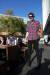 빨강, 파랑 체크 셔츠와 검정 스키니 진으로 스타일링 한 남성. 여러 가지 시도를 통해 자신의 스타일을 만들어보자. 프리랜서 사진작가 전명진