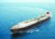 한국 조선은 지난해 중국을 누르고 수주량 1위를 되찾았다. 앞선 기술력으로 세계 시장을 독식하다시피 한 LNG 운반선이 큰 역할을 했다. 사진은 현대중공업이 건조해 시운전 중인 LNG선. [사진 현대중공업]