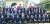 이날 한완상 3·1운동 및 임정수립 100주년 기념사업추진위원장, 정부대표단, 5당 원내대표 등이 중국 상하이 임시정부 청사 기념관을 들러본 뒤 기념촬영을 하고 있다. [연합뉴스]