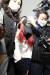 지난달 30일 남편과 함께 중학생 친딸(13)을 살해한 혐의(살인)로 긴급체포된 유모(39)씨가 광주 동부경찰서에서 광역유치장으로 이동하고 있다. [연합뉴스]