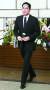 12일 서울 신촌 세브란스병원 장례식장의 이희호 여사 빈소를 찾은 조문객들. 사진은 이재용 삼성전자 부회장.
