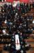14일 오전 서울 서대문구 창천교회에서 故 김대중 전 대통령의 부인 이희호 여사의 장례 예배가 열렸다. 운구 행렬이 교회를 나서고 있다. 우상조 기자