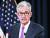 제롬 파월 미국 연방준비제도 의장이 19일(현지시간) 워싱턴에서 연방공개시장위원회(FOMC) 정례회의를 마치고 향후 금리인하를 시사하는 기자회견을 하고 있다. [로이터=연합뉴스]