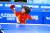 6세 때인 2010년 12월 그랜드 파이널스 시범 경기에서 드라이브 공격을 하는 신유빈. [사진 더 핑퐁]