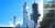 스페이스X사의 '팰컨 헤비' 로켓이 발사 대기 중이다. [사진 스페이스X]