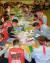 17일 오후 울산시 동구 현대중공업 사내 체육관에서 노조가 파업 찬반투표 개표 작업을 하고 있다. [연합뉴스]