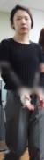 고유정이 지난 6월 7일 제주시 제주동부경찰서 유치장에서 진술녹화실로 이동하고 있다. [뉴스1]