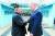 【서울=뉴시스】북한 노동신문은 김정은 국무위원장이 지난달 30일 판문점에서 도널드 트럼프 미국 대통령과 회동했다고 1일 보도했다. 2019.07.01. (출처=노동신문)  photo@newsis.com