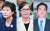 29일 오후 대법원이 박근혜 전 대통령, '비선 실세' 최순실, 이재용 삼성전자 부회장이 연루된 '국정농단' 사건 상고심에서 피고 3인에 대한 선고를 내렸다. [연합뉴스]