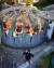 그래피티 아티스트 빌레의 3D 그래피티. [사진 VILE 인스타그램]