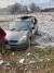 폭발 충격으로 인해 차량 유리창이 깨지는 등 피해를 입었다. [로이터=연합뉴스]