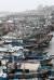 태풍 '타파'가 북상하는 가운데 22일 오전 전남 여수시 국동항에 피항을 온 어선과 여객선들이 북적이고 있다. [연합뉴스]