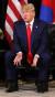23일 오후(현지시간) 뉴욕 인터콘티넨탈 바클레이 호텔에서 도널드 트럼프 대통령이 문재인대통령과 정상회담에 앞서 모두발언을 마친 뒤 취재진의 질문에 답하고 있다. [청와대사진기자단]