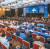 지난 19일 서울 양재동 더 케이호텔에서 열린 '2019 지구촌 전쟁종식 평화 국제법 제정 콘퍼런스'에서 이만희 대표 연설 모습. [사진 HWPL]