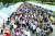 부산에선 시민·어린이·청소년 등 540개팀이 참가한 장터가 성황리에 끝났다. 송봉근 기자