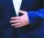 강 여사가 선물한 묵주반지는 23년째 문 대통령의 왼쪽 손에 끼워져 있다. [뉴시스]
