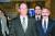 2박3일 일정으로 방한한 데이비드 스틸웰(왼쪽) 미 국무부 동아시아·태평양 담당 차관보가 5일 오후 인천국제공항을 통해 입국하고 있다. 오른쪽은 해리 해리스 주한 미국대사. [뉴스1]