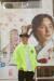 심찬양 그래피티 아티스트가 자신의 작품 앞에서 포즈를 취하고 있다. [사진 심찬양 작가]