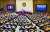 문재인 대통령이 지난달 22일 서울 여의도 국회 본회의장에서 2020년도 예산안 시정 연설을 하고 있다. [뉴스1]