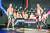 '태백에서 금강까지-씨름의 희열'에서 활약 중인 손희찬(왼쪽)·이승호 선수. 아이돌 못지 않은 외모와 몸매로 인기를 얻고 있다. [사진 KBS]