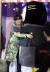 펭수가 방탄소년단 뷔와 포옹하고있다. [사진 일간스포츠]