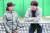 인천대 테니스장에서 만난 이동국과 재아 부녀. [중앙포토]