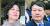 추미애 법무부 장관(왼쪽)과 윤석열(오른쪽) 검찰총장 . [뉴스1, 뉴시스]