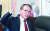 """김형오 한국당 공천관리위원장은 18일 총선 공천 물갈이와 관련 ''내가 죽음으로 당이 산다. 자유민주주의가 산다. 대한민국이 산다' 이런 생각을 해주면 고맙겠다""""고 말했다. 변선구 기자"""