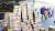 신종 코로나바이러스 감염증(우한 폐렴) 여파로 마스크 품귀 현상이 이어지고 있는 5일 오후 인천국제공항 1터미널에서 마스크 상자가 쌓여 있다. [뉴시스]