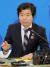 김승환 전북교육감이 지난 1월 7일 전북교육청에서 열린 신년 기자회견에서 취재진 질문에 답변하고 있다. 뉴스1