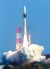 지난달 9일 일본 우주항공연구개발기구(JAXA)와 미쓰비시중공업이 가고시마현 다네가시마 우주센터에서 정보 수집 위성 '고가쿠(光學)' 7호기를 실은 H2A 로켓 41호기를 쏘아 올리고 있다. [사진=연합뉴스]