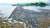 세종보 상류에 설치한 자갈보가 2018년 집중호우로 유실된 모습 [중앙포토]