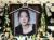 24일 숨진 채로 발견된 가수 고(故) 구하라의 일반 빈소가 마련된 서울 강남 성모병원 장례식장에 놓인 영정. [사진공동취재단]