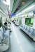 지난달 출근길의 대구 지하철. 내부가 한산하다. [뉴스1]