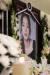 가수 고(故) 구하라의 일반 빈소가 마련된 서울 강남 성모병원 장례식장에 놓인 영정. [사진공동취재단]